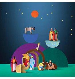 Studio ROOF Menschen der Welt - Weihnachtskrippe