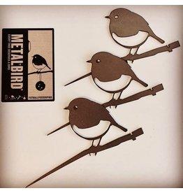 Metalbird Roodborstje XXS set/3