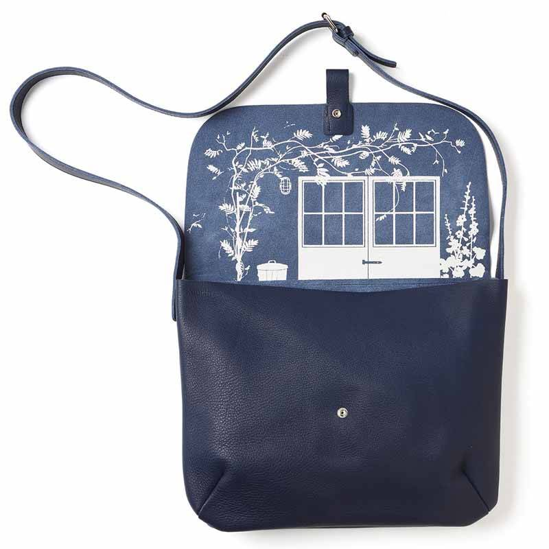 Tasche Backyard Inkblue