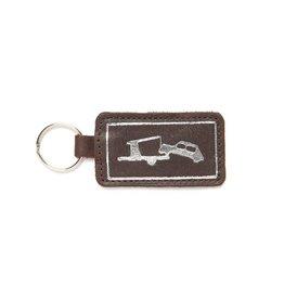 Keecie Schlüsselanhänger Car Park Dunkelbraun