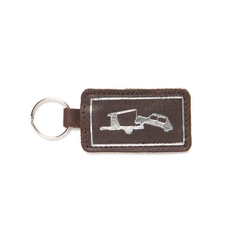 Keychain Car Park Dark brown