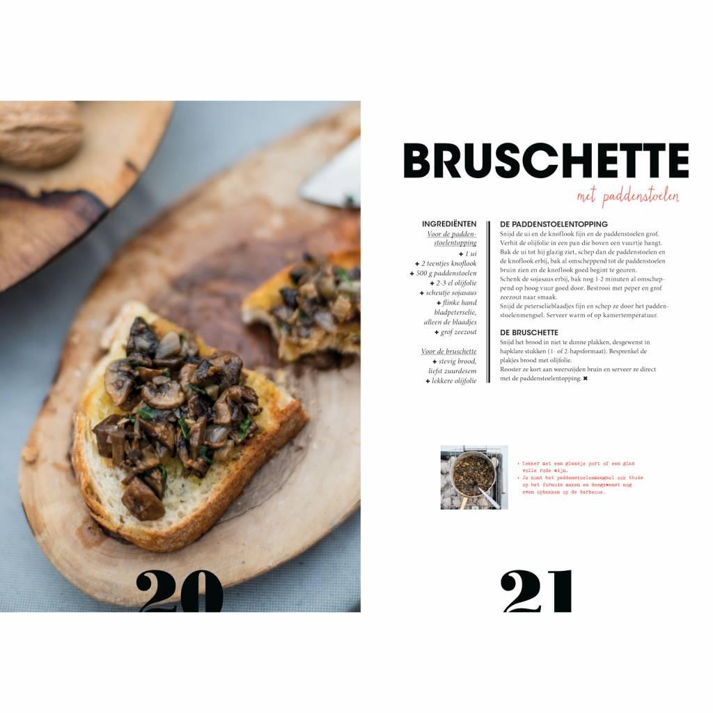 The winter BBQ book Dutch