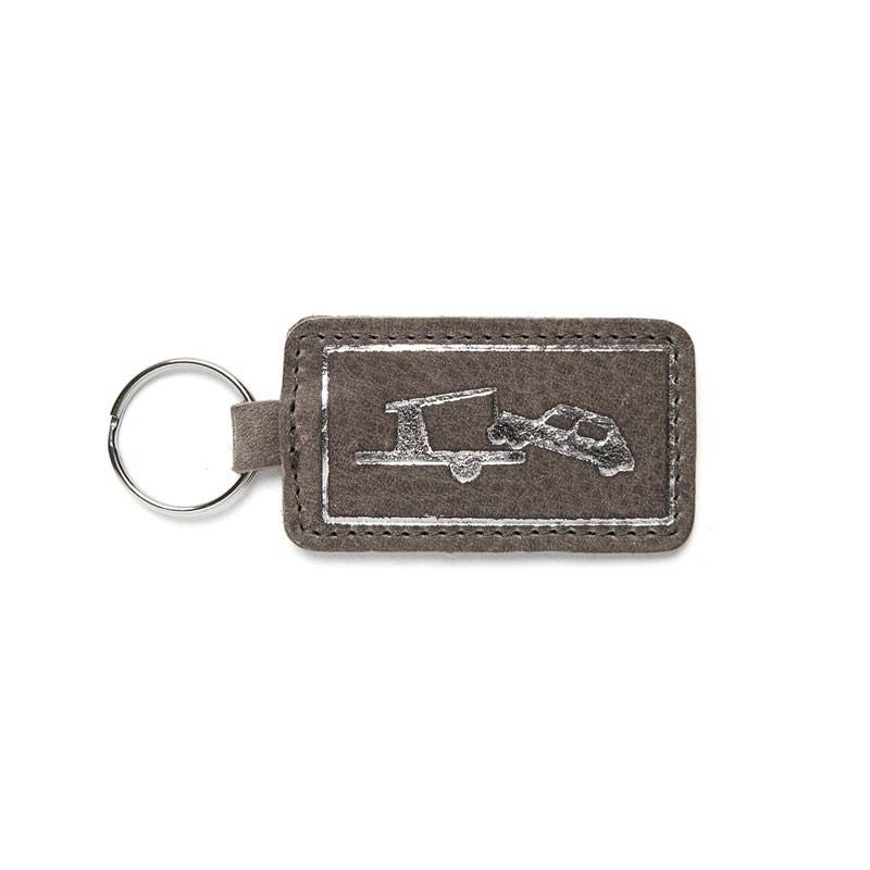 Keychain Car Park Gray Brown