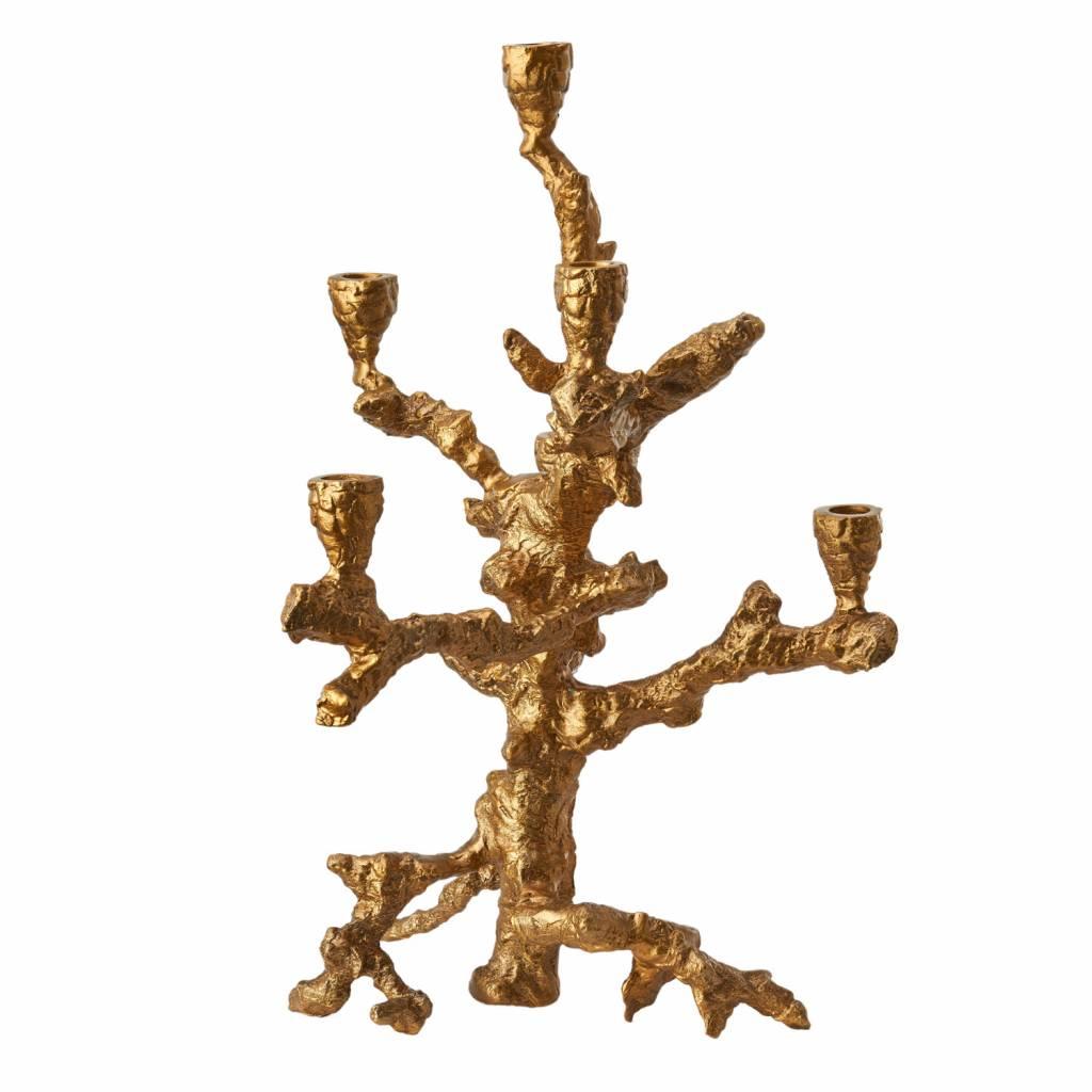 Kandelaar Apple Tree Goud