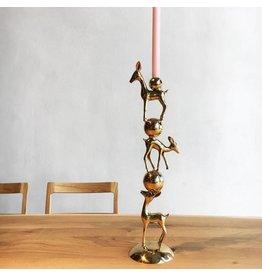 Pols Potten Kerzenständer Bambi Gold