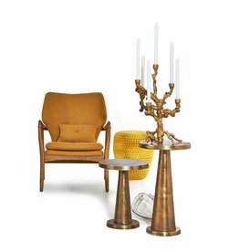 Pols Potten Kerzenständer-Apfelbaum-Gold