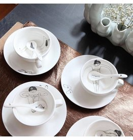 Pols Potten Undressed Teaset set of 4