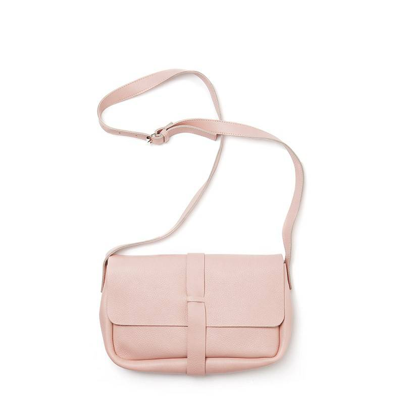 Bag Picking Flowers Soft Pink