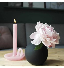 Ontwerpduo Candle and Candlestick Tallow Blossom Pink