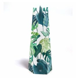 Happy Whatever Card-Vase Botanical Leaves