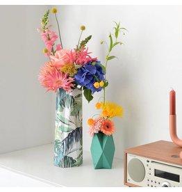 Happy Whatever Karte-Vase Botanical Leaves