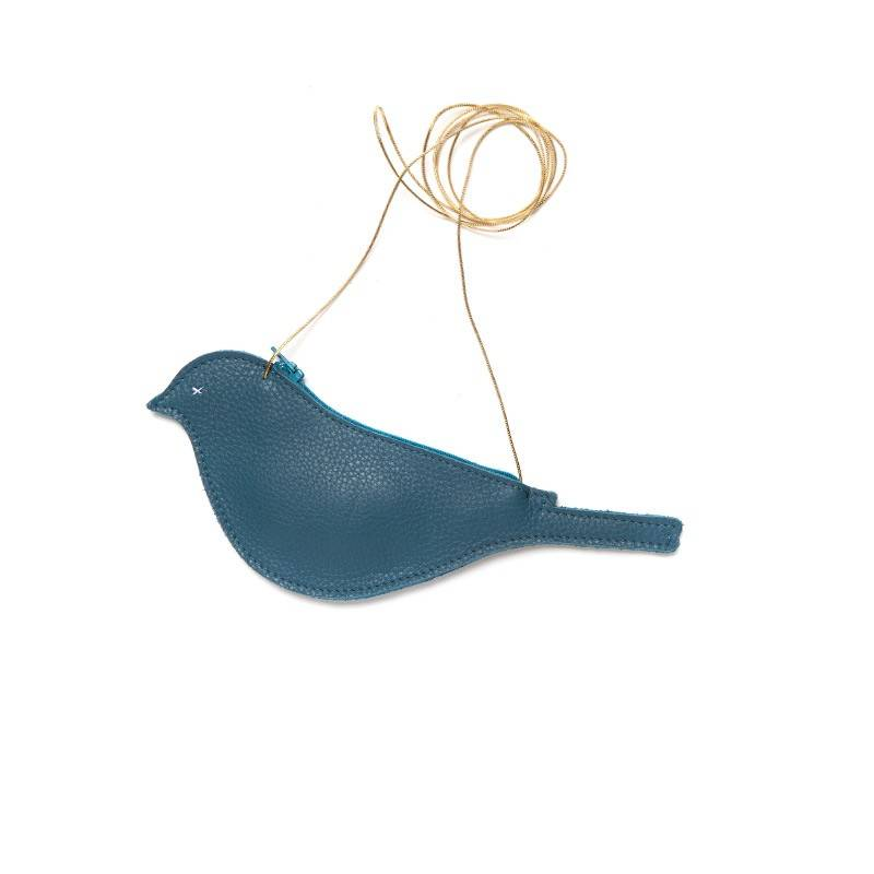 Bag Tweet Bird Faded Blue