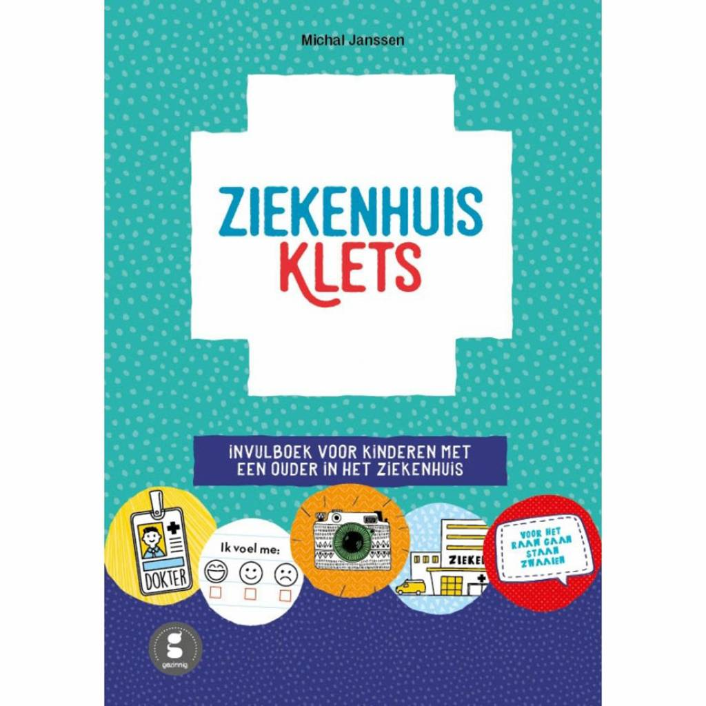 Ziekenhuisklets - For children with a sick parent Dutch