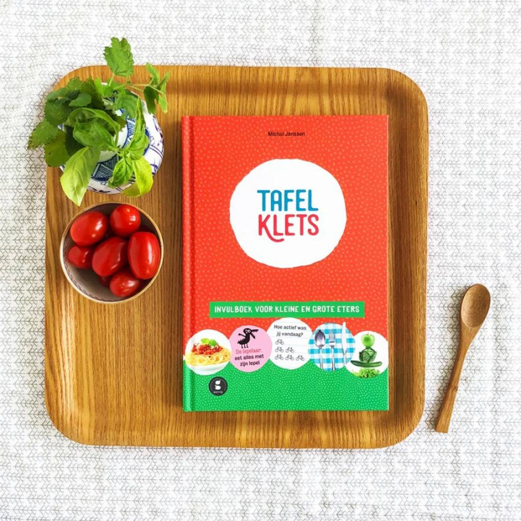 Tafelklets Entry book for Small and Large Eaters Dutch