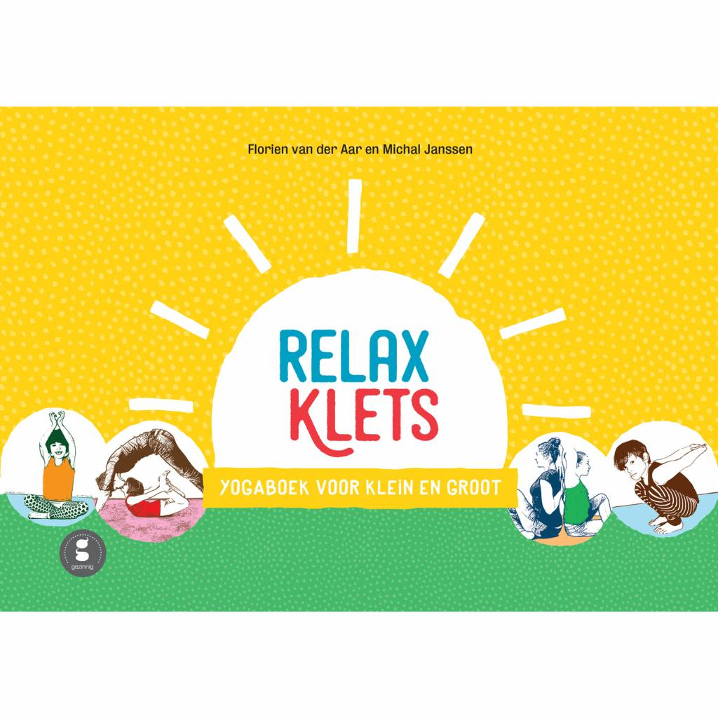 Relaxklets Relaxation book Dutch