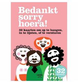 Uitgeverij Snor Danke Sorry, Hurra! Grußkarten (NL)