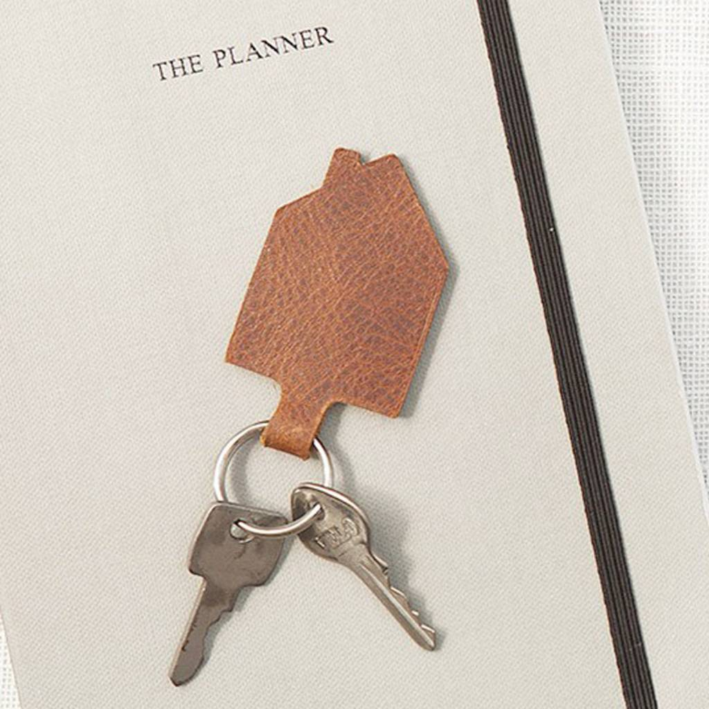 Key ring Good House Keeper Cognac