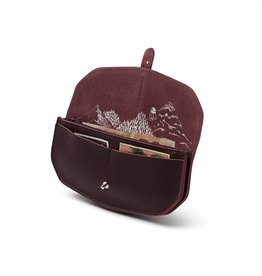 Keecie Portemonnaie Move Mountains Aubergine