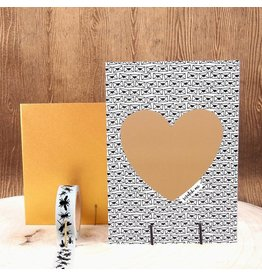 WowGoods Rubbelkarte Bonjour Mon Amour
