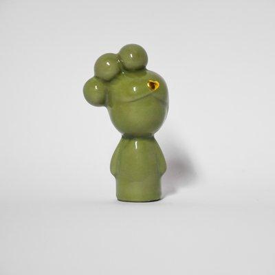 Puppe grun