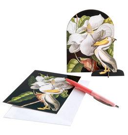 Studio ROOF Pop-Out-Karte Romantic Pelican