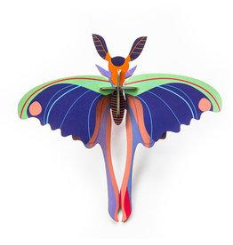Studio ROOF Komeet vlinder blauw