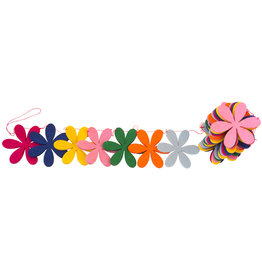 Global Affairs Flower garland felt