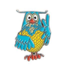Global Affairs Mr. Owl pin
