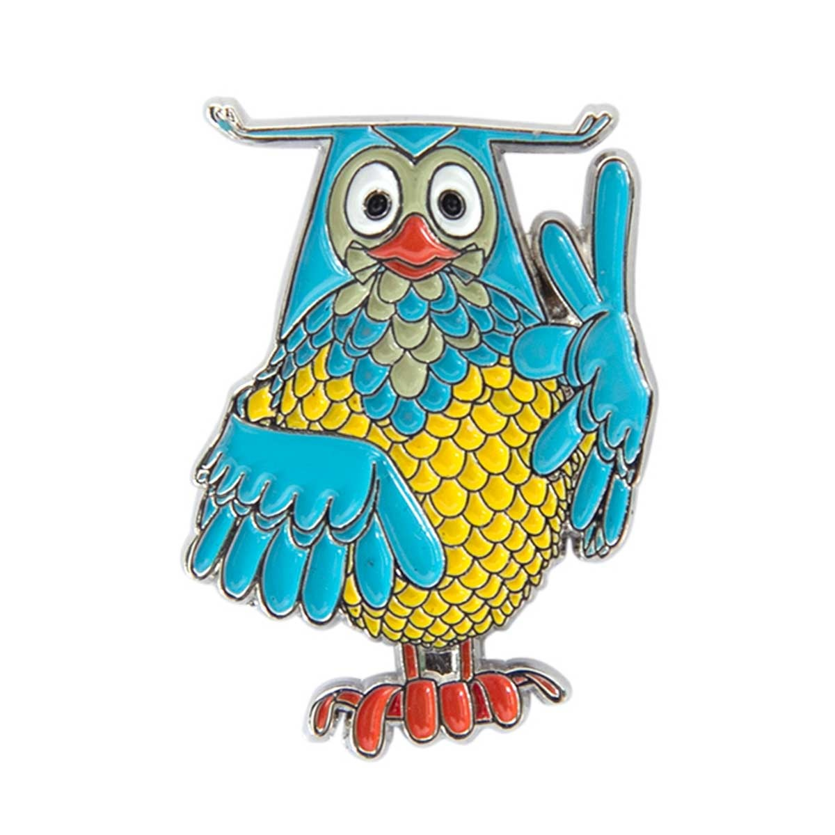 Mr. Owl Pin