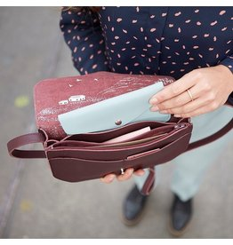 Keecie Move Mountains Tasche Aubergine