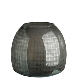 Pols Potten Vase Checkered Gray