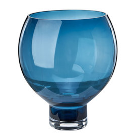 Pols Potten Vase Coupeball blue