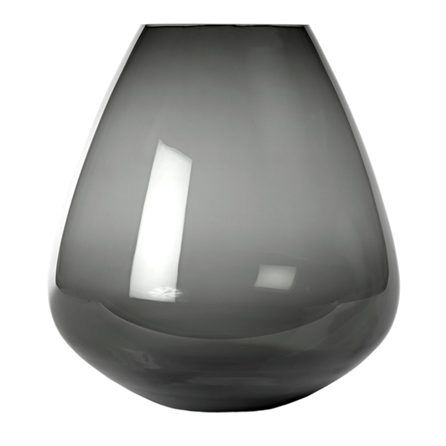 Vase Wiskey glass grey