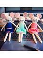 Kuscheltier Maus Lola Pink