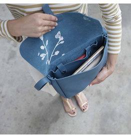 Keecie Flora & Fauna Faded Blue Tasche