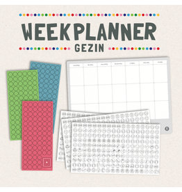 Gezinnig Weekly planner Family