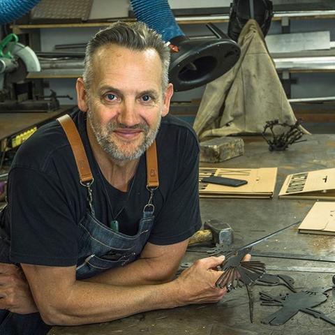 Metalbird creator Phil Walters
