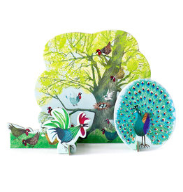 Studio ROOF Pop-out card Chicken tree
