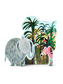 Pop-Out-Karte Dschungel-Elefant