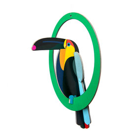 Studio ROOF Pop-out card Toucan