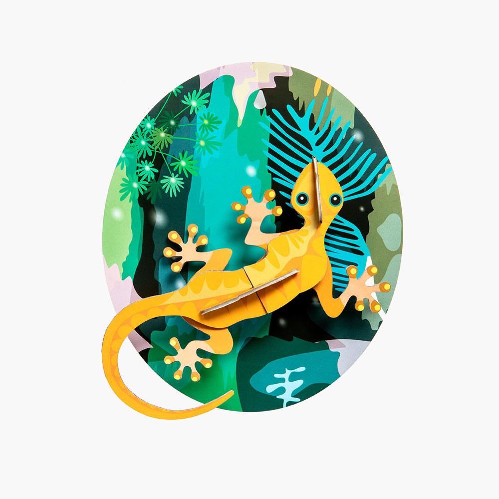 Dschungel Gekko
