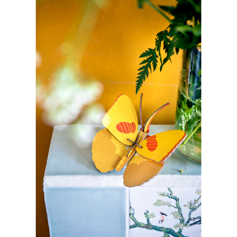Gelber Schmetterling