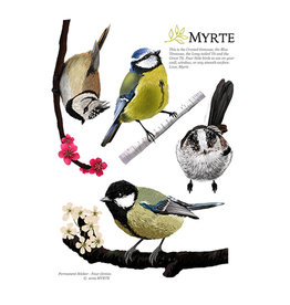 Myrte Wall stickers Mezenmix