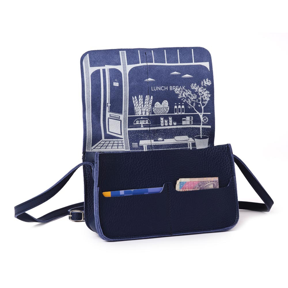Bag Lunchbreak Inkblue