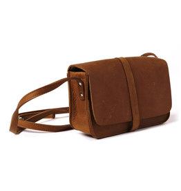 Keecie Bag Lunchbreak Cognac
