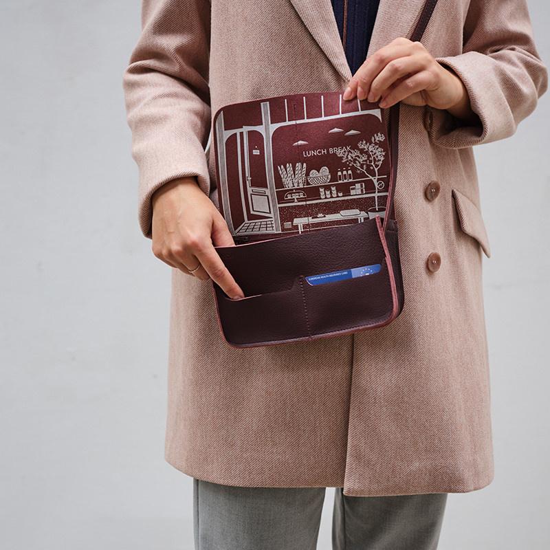 Bag Lunchbreak Aubergine