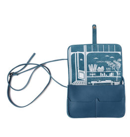 Keecie Tasche Lunchbreak verblasste Blau