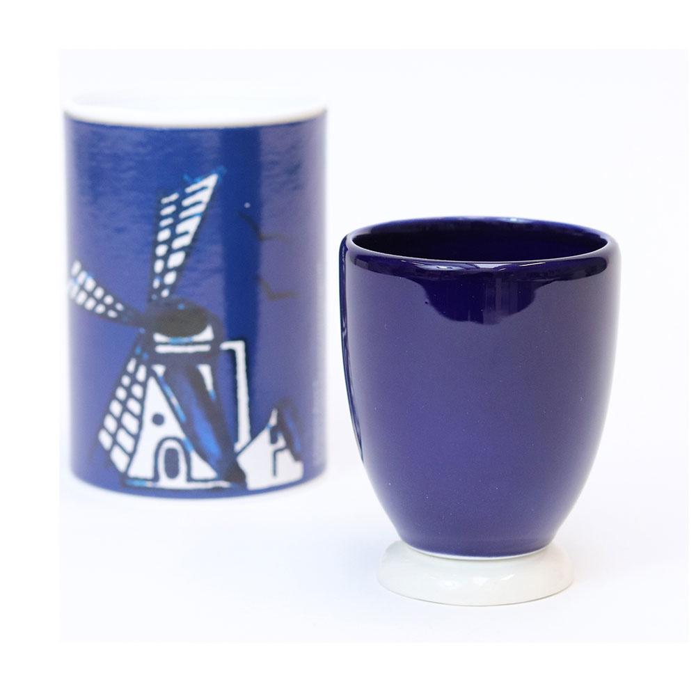 Cup Delfstblauw foot blue