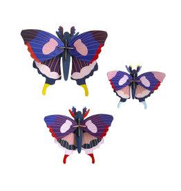 Studio ROOF Dovetail butterflies set / 3