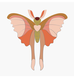 Studio ROOF Pin Comet Butterfly